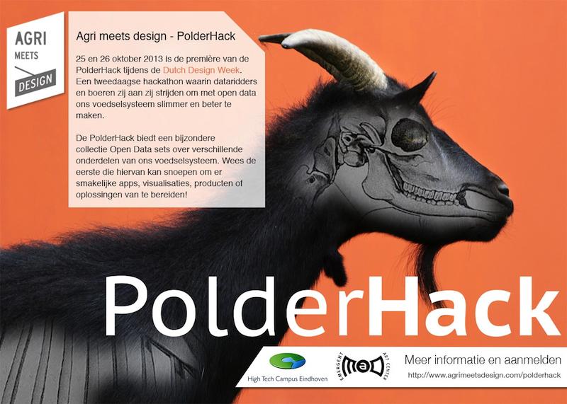 PolderHack schrijft historie. Het hack is van de dam